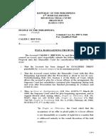LegalForms_(19) Plea Bargaining Proposal