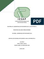Sistemas de Información Hospitalaria e Informática