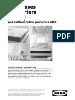 Mattress QPP Aug 2018