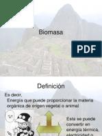 Semana 13 Biomasa