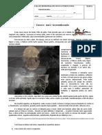 Avaliação Bimestral de Língua Portuguesa 3 Conto de Assombracao