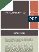 diapostivas de test de rorscharch y tat