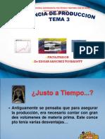 GERENCIA DE PRODUCCION TEMA 3  JIT - MRP.ppt