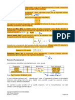 Formule Per Portata, Concentrazione, Carico Specifico, Carico Totale, Flusso Solido, Dotazione Idrica, Carico