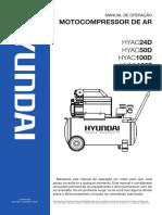 Operation Manual Motocompressor Hyundai