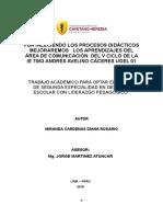 Plan de Acción Diana Miranda Cardenas
