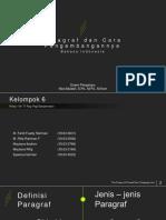 PPT Bahasa Indonesia Kelompok 6