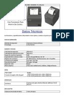 Impresora Epson Tm-20ii