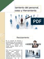 Presentación1. Reclutamieto Del Personal