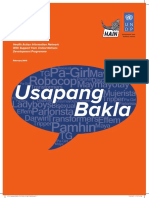 Usapang Bakla- Assessing the Risks and Vulnerabilites of Filipino MSM and TG_2013