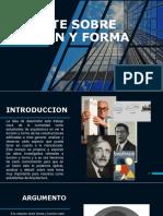 Funcion y Forma Ppt