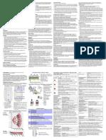 Manual de Utilizare Detector de Miscare Dublu Dual de Interior Paradox DG75 11 x 11 m 90 Deg PIR