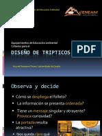 Diseño tripticos
