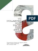 Edital Vii Colartes 2019 Retificado