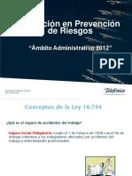 Charla DAS Administrativos 2014