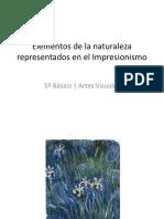 Elementos de La Naturaleza Representados en El Impresionismo