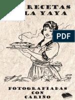 LAS RECETAS DE LA YAYA LIBRO-PRINCIPAL 132 Pag.pdf