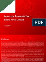 Investor Presentation July2008