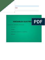 Variables Eléctricas
