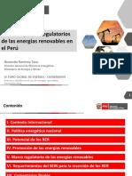 9. Rosendo Ramirez. AspectosRegulatorios RER DGEE MINEM 201118