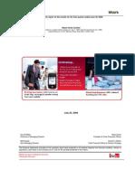 Quarterly Report q1fy09