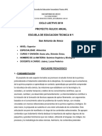 Planificacion Quimica Organica y Biologica