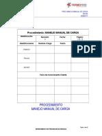 Proc. Manejo Manual de Carga. Rev. 00 TF