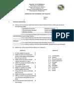 Summative Test in Mapeh 6