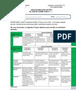 Evaluación libro El que no corre...,  Floridor Perez 2018
