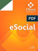 Cartilha Do ESocial - Atualização Em 2017 Versão 3-1