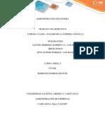 Trabajo colaborativo final 1  unidad 1 Analisis Financiero de la empresa SOLES S,A,.docx