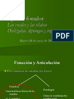 Material para el estudio de la Fonética y la Fonología
