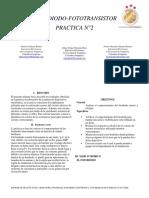 Practica Fotodiodo Fototransistor