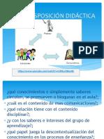 transposicion didactica