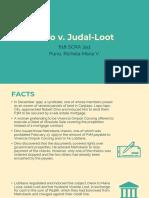 Dino v. Judal-Loot