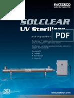 UV Steriliser Soclear