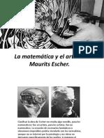 Proyecto investigativo La Matemática y El Arte de Maurits Escher
