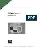 Manual de servicio del Miditron Junior