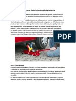 Aplicaciones De La Hidrostática En La Industria                                                                                                            EL GATO HIDRÁULICO.docx