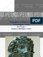 Arte Grega  Escultura, Mitologia e Teatro- 3 ano liceu.pdf