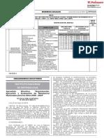 EL PERUANO RJ 099 Aprueban Directiva Organizacion Ejecucion y Evaluacion de Resolucion Jefatural No 099 2019 Indeci 1767378 1