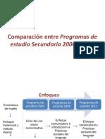 Comparación entre Programas de estudio Secundaria 2006 y 2011.pptx