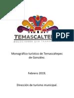 Monográfico turístico de Temascaltepec