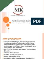 Company Profil Cipta Mandiri Karya