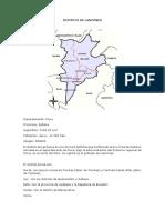 Distrito de Lancones