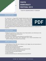 Youth Democracy Festival.