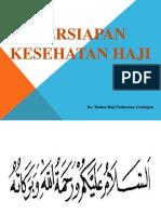Persiapan Kesehatan Haji