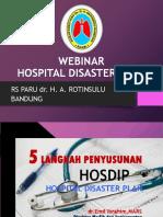 Hospital Disaster Plan & Simulasi Bencana