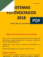 2018 Fotovoltaicos Unidad 1 Energías Renovables