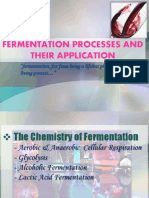 Fermentation processes and their application